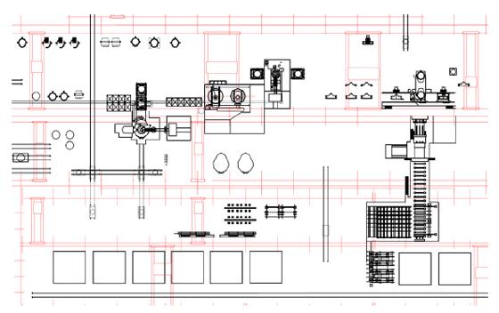 Рисунок 1 - Схема расположения