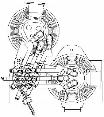 Схема работы механизма подъема